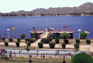Mansar lake is one of the famous picnic spot near Jammu city