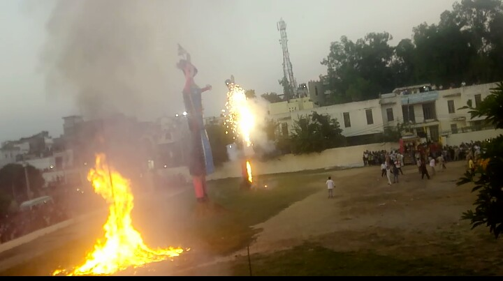 Amazing experience of Dussehra festival celebrated at Jammu city