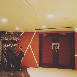 Grandstand is the first sports theme restaurant in Jammu city